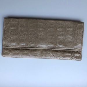 Handbags - Light brown leather clutch
